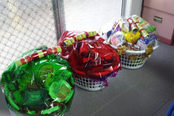 Xmas Hampers Lions Club and RSL Donations 2015